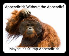 Stump appendicitis is an under-reported complication that can occur after surgery to remove the appendix. It results from inflammation of the residual appendix left behind from surgery.