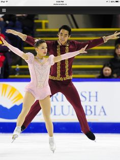 Madeline Aaron / Max Settlage Pairs free program Skate Canada 2014 (The King and I by Richard Rogers and Oscar Hammerstein)