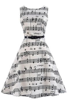 This is an adorable piano dress! I just had to pin it cause my sister e68bbf0c1