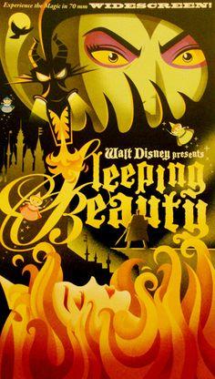 Sleeping Beauty poster - The art of the Disney princesses