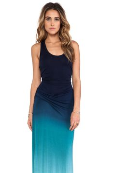 Young, Fabulous & Broke Hamptons Maxi in Navy Ombre from REVOLVEclothing