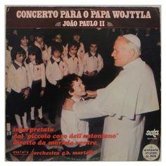 #Concerto para o #Papa #Wojtyla – #JoãoPauloII - #vinil #vinilrecords #temas