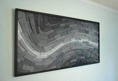 wall painting PayStreak wood wall art wall