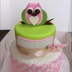 Pastel tecolote / owl cake Mujeres / niñas / woman / girls Pastel / cupcakes / cake Bakery 676