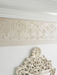 Deedee Dado - Paintable Embossed Walls - Freixe Empire : Designer Walls and Fabrics, Specialty Wallpaper for Home or Office Thick Wallpaper, Paintable Textured Wallpaper, Embossed Wallpaper, Home Wallpaper, Wallpaper Borders, Wallpaper Patterns, Custom Wallpaper, Wallpaper Ideas, Wallpaper For Walls