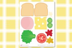 Encourage dramatic play in your kids. Make this awesome DIY play sandwich using our DIY play food sandwich printable. Simple and fun paper DIY activity!