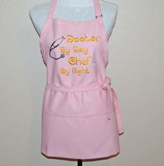 Apron For Female Doctor Physician Custom by AGiftToTreasure