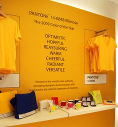 If It's Hip, It's Here: Pantone Continues Their Colorful Collaborations With A GAP Pop Up Store.
