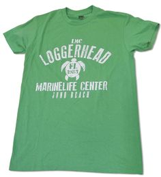 Show support for your favorite organization with this retro LMC t-shirt, featuring a sea turtle icon and 1983 (the date LMC was founded). 100% cotton. Comes in the colors Tangerine or Green Grass.