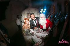 Our Yeti walk about act for one of of Christmas at this Taxidermy Wedding - Festival themed wedding