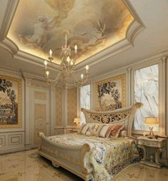 10 Sources for Luxury Bedding Luxury Bedroom Design, Home Room Design, Dream Home Design, Luxury Home Decor, Luxury Interior, House Design, Bungalow Bedroom, Mansion Bedroom, Art Deco Bedroom
