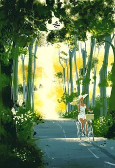 Cute Illustration, Digital Illustration, Pascal Campion, Art Plastique, Pretty Art, Aesthetic Art, Storyboard, Oeuvre D'art, Art Paintings