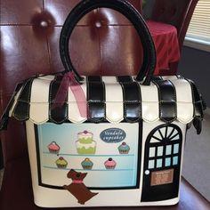 Adorable cupcake bag Vendula London cupcake store bad. The details on this bag are amazing. Vendula London Bags Shoulder Bags