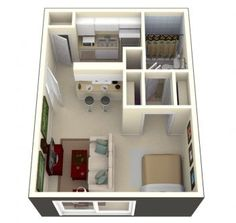 65 simple micro apartment layout ideas on a budget (20)