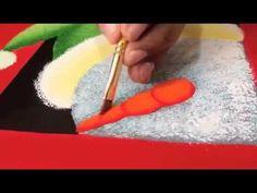 ¿Cómo hacer un individual navideño en MDF? - YouTube