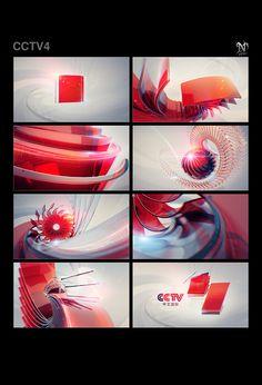 CCTV-4 on Behance