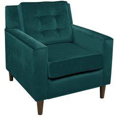 Valerie Velvet Arm Chair @ Joss & Main