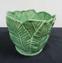 Sylvac green vase
