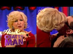 db2220cf4144 Bette Midler Makes Out With Alan Carr (Full Interview)