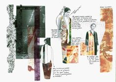 Best Ideas For Fashion Portfolio Design Layout Central Saint Martins Sketchbook Layout, Textiles Sketchbook, Fashion Sketchbook, Sketchbook Inspiration, Fashion Sketches, Sketchbook Ideas, Fashion Drawings, Portfolio Mode, Fashion Portfolio Layout