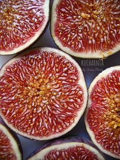 sweet  | fruit: fig . Frucht: Feige . fruit: figue | recipe for fig tarts @ Kucharnia |