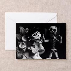 Frida and Diablo Greeting Card