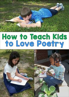 How to Teach Kids to Love Poetry Video Presentation Teaching Poetry, Teaching Grammar, Teaching Language Arts, Teaching Social Studies, Teaching Writing, Writing Activities, Student Learning, Teaching Kids, Writing Resources
