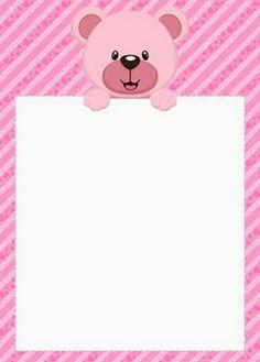 Agenda urso rosa