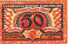 Notgeld aus Karlsruhe