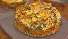 Gluten-Free Almond, Vegetable and Ricotta Slice - Good Chef Bad Chef