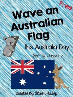 Most Popular Teaching Resources: Australian Flag