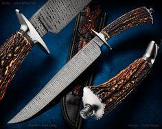 knife: John White MS sheath: Paul Long #calebroyerphotography #knife #knifemaking #knives #customknives #handmadeknives #knifecommunity #handmade #knifeart #knifepics