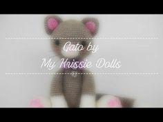 Mis amigurumis terminados: gato by My Krissie Dolls. - YouTube