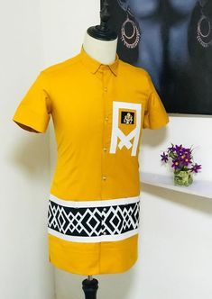 African Shirts For Men, African Dresses Men, African Clothing For Men, African Men Fashion, African Attire, Mens Fashion, Fashion Outfits, Liverpool Wallpapers, Native Wears