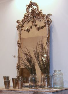 French mirrors!