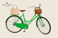 Kate Spade Bicycle.  If only it was yellow