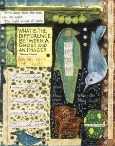 """""""What It Is,"""" Lynda Barry love her drawings/collages."""