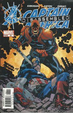 Marvel Captain America comic issue 32
