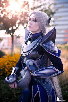 """""""Dusk approaches."""" - Diana Cosplay by Sara Toffolo Diana from League of Legends"""