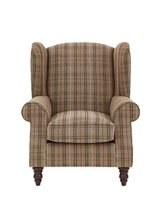 Buy Sherlock Chair 1 Seat Versatile Check Stirling Red