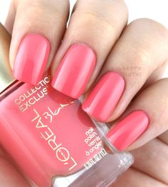 L'Oreal Collection Exclusive Pinks Collection Nail Polish; Blake's Pink