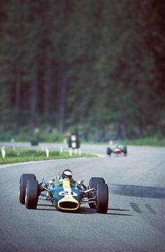 Jim Clark at Spa-Francorchamps