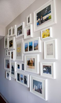 Photo Wall - Walking towards the front door