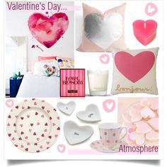 Valentine's Day Atmosphere... by pixers on Polyvore