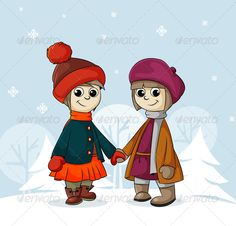 Realistic Graphic DOWNLOAD (.ai, .psd) :: http://vector-graphic.de/pinterest-itmid-1006151231i.html ... Two Girlfriends in Winter ...  babies, child, children, clothing, cold, cute, friendship, fun, girls, group, hands, happiness, hat, holiday, little, mitten, nature, people, scarf, smiling, snow, snowflake, tree, vector, winter  ... Realistic Photo Graphic Print Obejct Business Web Elements Illustration Design Templates ... DOWNLOAD…