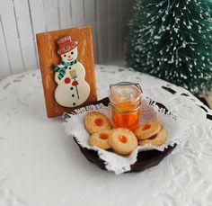 Orange Marmalade Cookies (1:12 scale)