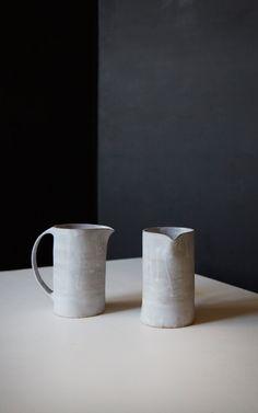 BDB stoneware pitcher