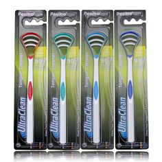 Pesitro Rubber Togue Scraper Brush Oral Hygiee Detal Togue Brush Oral Toothbrush oh-036