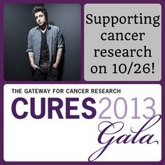 Lee DeWyze will lend his musical talents at our Cures 2013 Gala on 10/26. For a chance to win a signed guitar, a signed CD, or Chicago concert tickets visit: www.demandcurestoday.org/lee