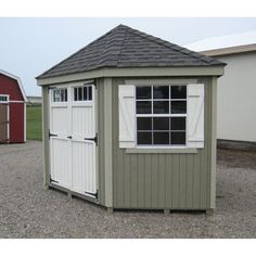 8x12 Shed Plans, Wood Shed Plans, Free Shed Plans, Shed Building Plans, Building Ideas, Wooden Storage Sheds, Shed Storage, Small Storage, Garage Storage